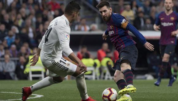 Barcelona y Real Madrid jugarán el 18 de diciembre en el Camp Nou. (Foto: AFP)