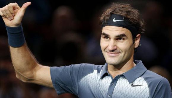 Roger Federer alcanzó su segunda semifinal de un torneo Masters Series en el año. (EFE)