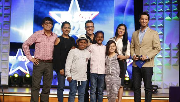 Se presentó al equipo de 'Yo Soy Kids' que incluye a tres pequeños. (Créditos: Mario Zapata)