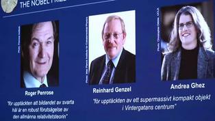 """El Nobel de Física premia a tres expertos de los """"agujeros negros"""