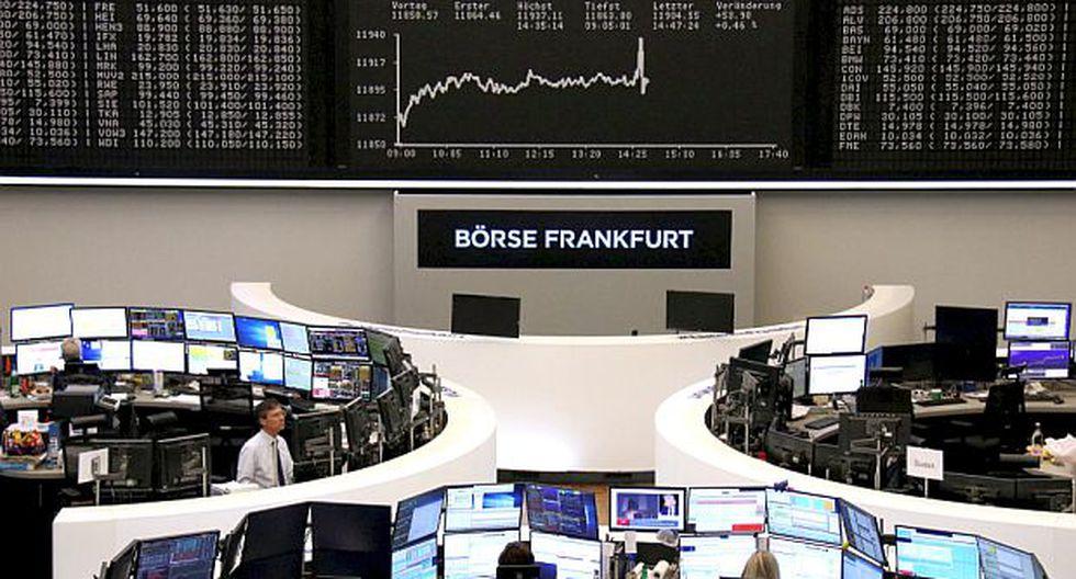 El índice DAX 30 de Frankfurt ganó 0.47% y quedó en 11,905.91 puntos. (Foto: Reuters)