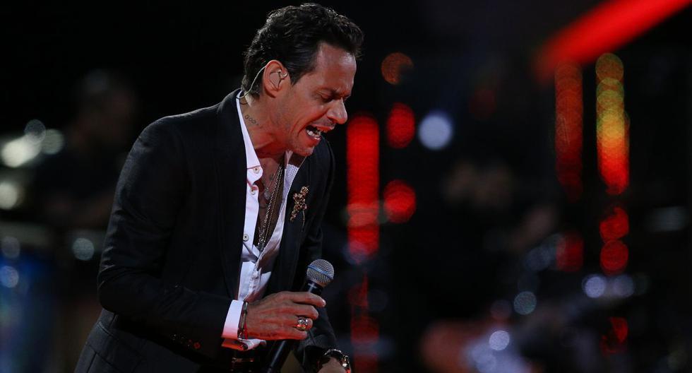 El cantante Marc Anthony siempre ha cumplido por sus fechas, por lo que su estado de salud preocupa. (AFP)