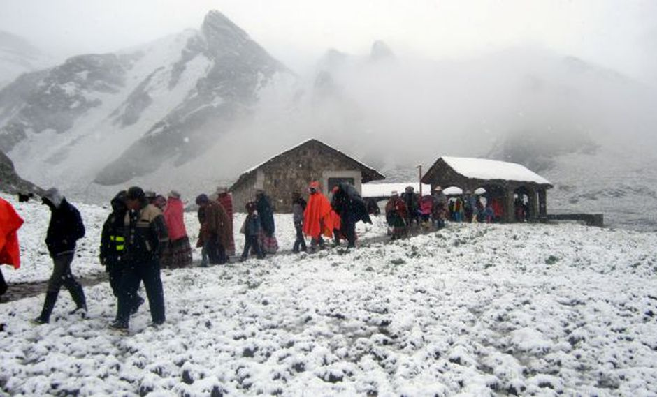 Minagri recibió 11 toneladas de pollos para ser distribuidos en zonas afectadas por el friaje. (USI)