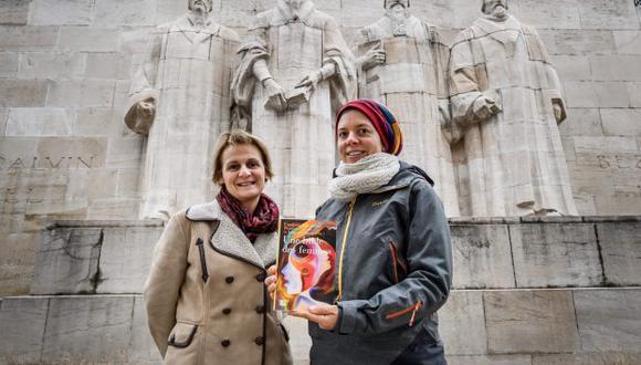 """""""Los valores feministas y leer la Biblia no son incompatibles"""", insiste las mujeres que están detrás de """"Une Bible des Femmes"""". (Foto: AFP)"""