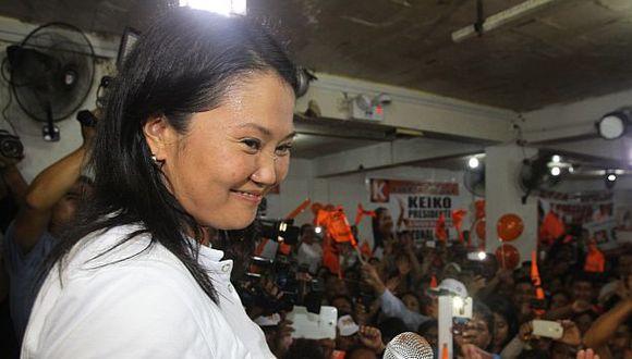 Keiko Fujimori es investigada por el delito de lavado de activos. (Foto: El Comercio)