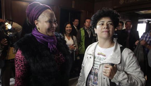 Piedad Córdoba y Marleny Orjuela son las voceras del colectivo Colombianos y Colombianas por la Paz. (Reuters)