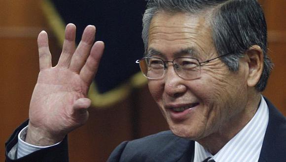 Situación de exmandatario Alberto Fujimori está en manos del Gobierno. ()