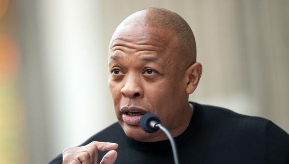 Dr. Dre abandona el hospital 10 días después de haber sido internado. (Foto: VALERIE MACON / AFP)