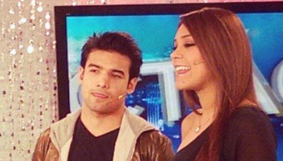 Por primera vez se lucieron juntos en TV. (Facebook Karen Schwarz)