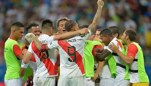 Perú derrotó a Uruguay por penales. (Foto: AFP)