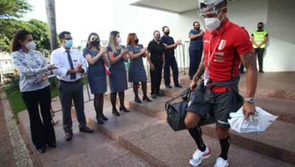 Perú partió a Brasilia para enfrentar a Venezuela. (Foto: FPF)