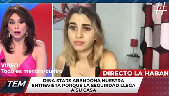 Influencer cubana es detenida mientras contaba detalles de la crisis en su país.