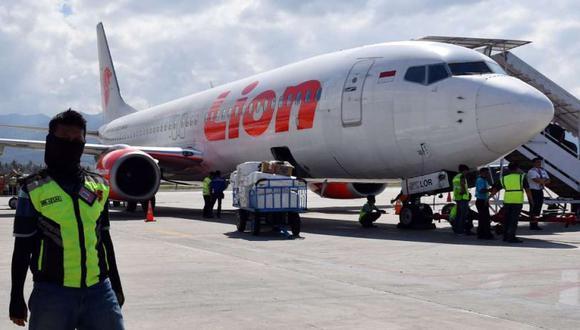 El Boeing 737 MAX 8 de la compañía de bajo coste Lion Air, que entró en servicio hace solo unos meses, desapareció tras despegar de Yakarta. (Foto referencial: AFP)