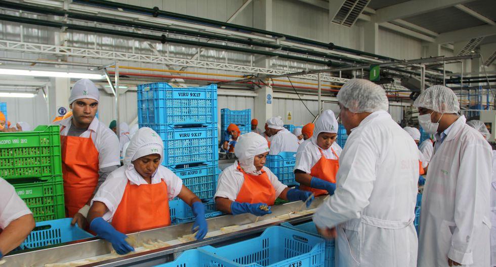 Mayoría de trabajadores formalizados se encuentran en las regiones de La Libertad, Piura, Lambayeque, Lima e Ica. (Difusión)