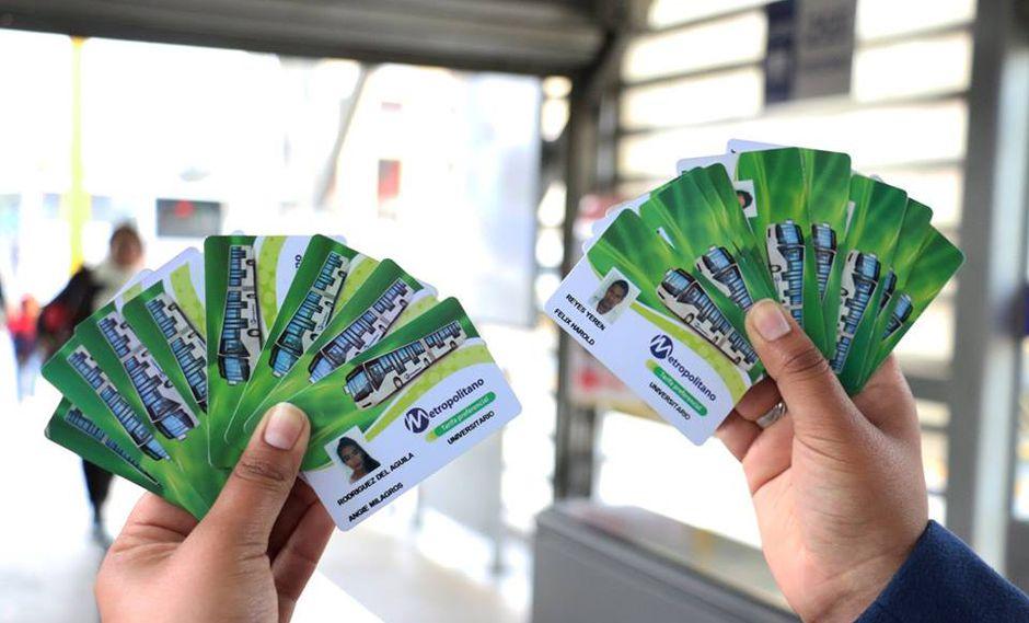 Metropolitano: Siguen las incautaciones a pasajeros que suplantan identidades. (Facebook/Metropolitano)