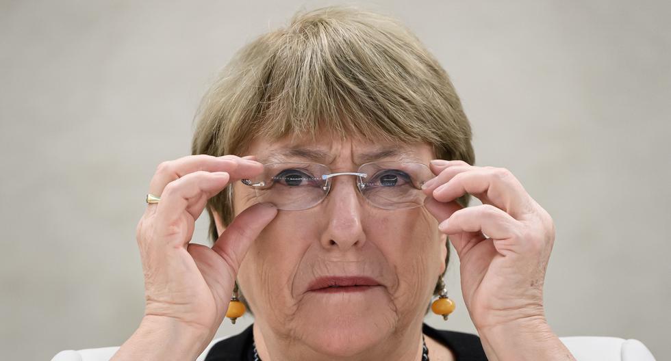 Michelle Bachelet, alta comisionada para los Derechos Humanos de la ONU. (AFP / Fabrice COFFRINI).