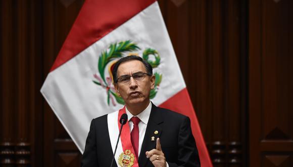 El presidente Martín Vizcarra emitió su primer mensaje a la nación como presidente de la República. Un discurso de cerca de dos horas de duración en el que puso mayor énfasis a la lucha contra la corrupción. (Geraldo Caso)