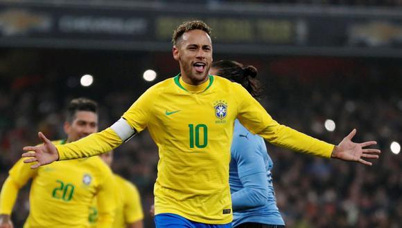 Neymar desea triunfar en los Juegos Olímpicos y la Copa América (Foto: Internet)