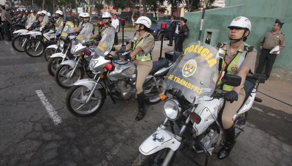 Dejaban motos sin gasolina. (Martín Pauca)