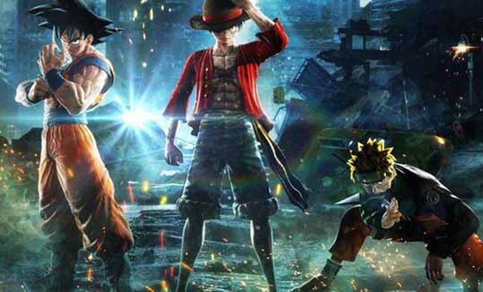 Bandai Namco presentó en el E3 un nuevo título de luchas con los principales personajes de la revista Shonen Jump.