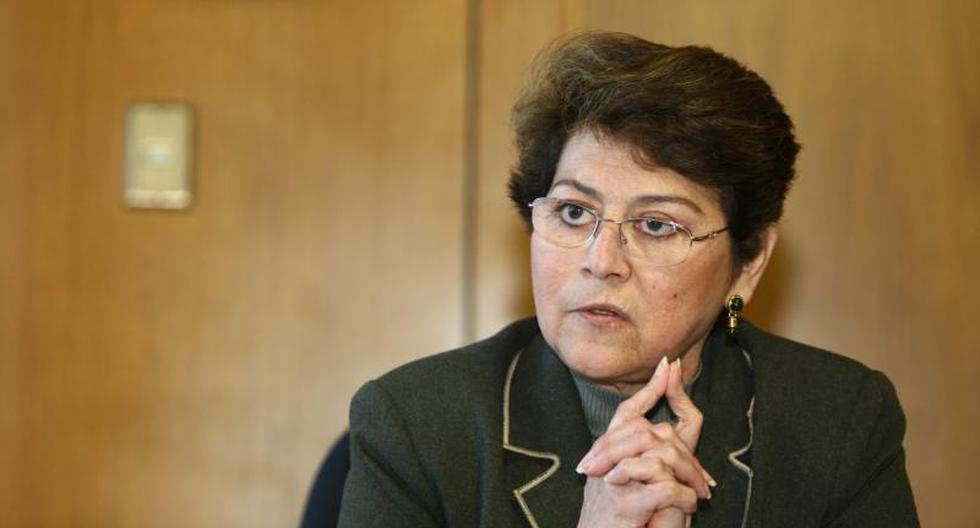 Ex fiscal de la Nación Gladys Echaíz sería precandidata al Congreso por Alianza para el Progreso