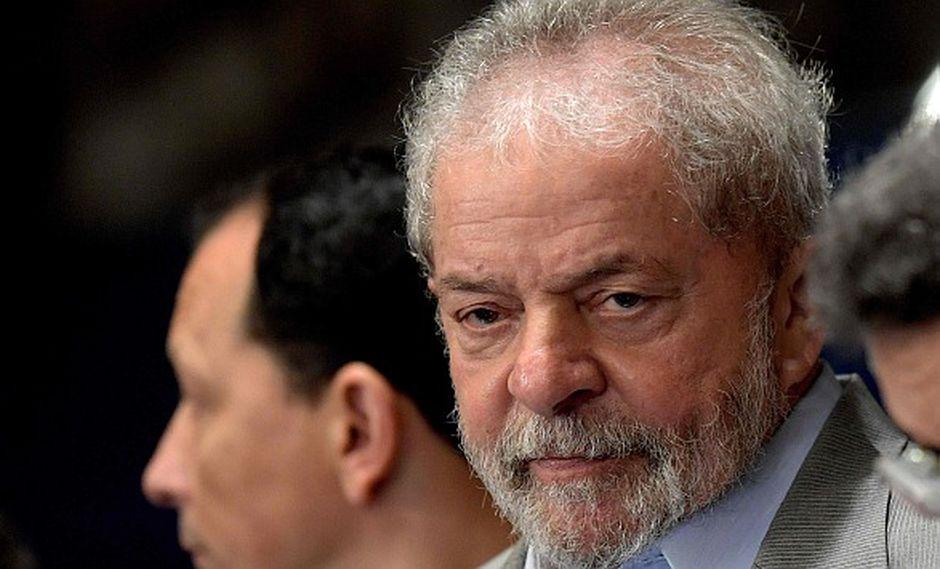 Lula da Silva fue denunciado por la Fiscalía de Brasil. (AFP)