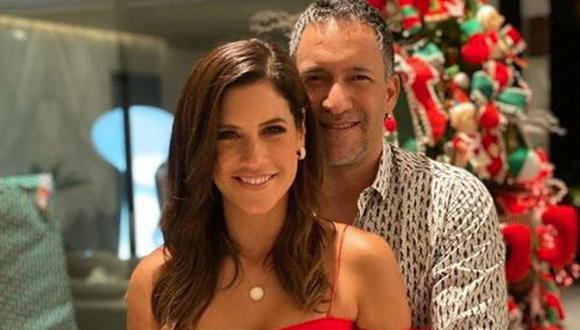 Maria Pía se mostró más enamorada que nunca de su esposo, con quien cumplió 14 años de matrimonio. (Instagram)