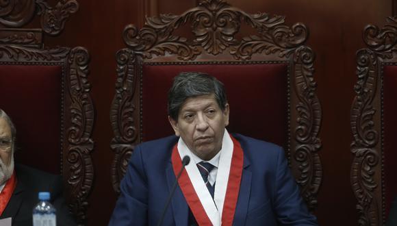 Carlos Ramos recomienda declarar improcedente la demanda de Olaechea. (Mario Zapata/GEC)