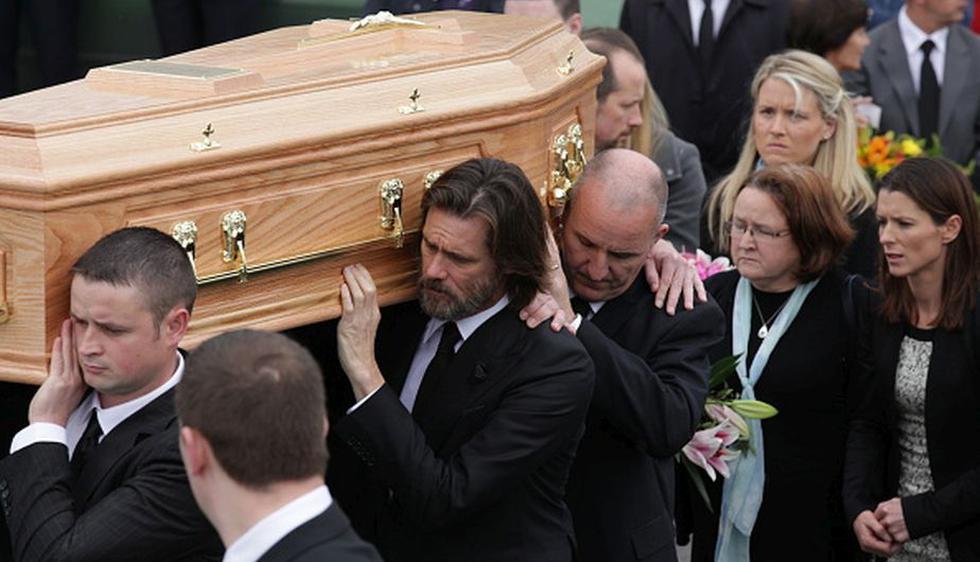 EL actor estadounidense asistió al funeral de su exnovia Cathriona White (Getty Images)