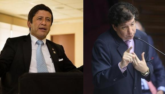Corte Suprema aprobó investigación contra Guido Aguila e Iván Noguera por presunto nombramiento indebido de jueces. (Foto: GEC)