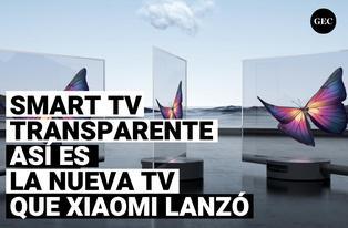Así es la tv transparente de 55 pulgadas que Xiaomi ha presentado
