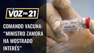 """Comando Vacuna: """"El ministro de Salud ha mostrado interés"""""""