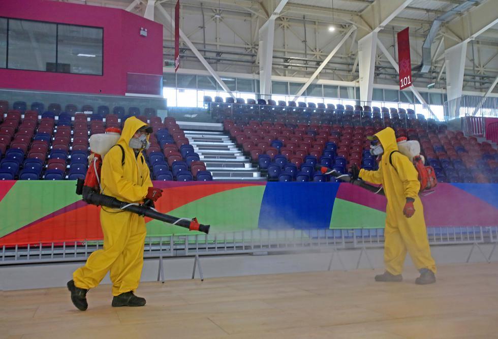 La Videna de San Luis, sede de los Juegos Panamericanos 2019, pasó por un proceso de desinfección. (Foto: Legado Lima 2019)