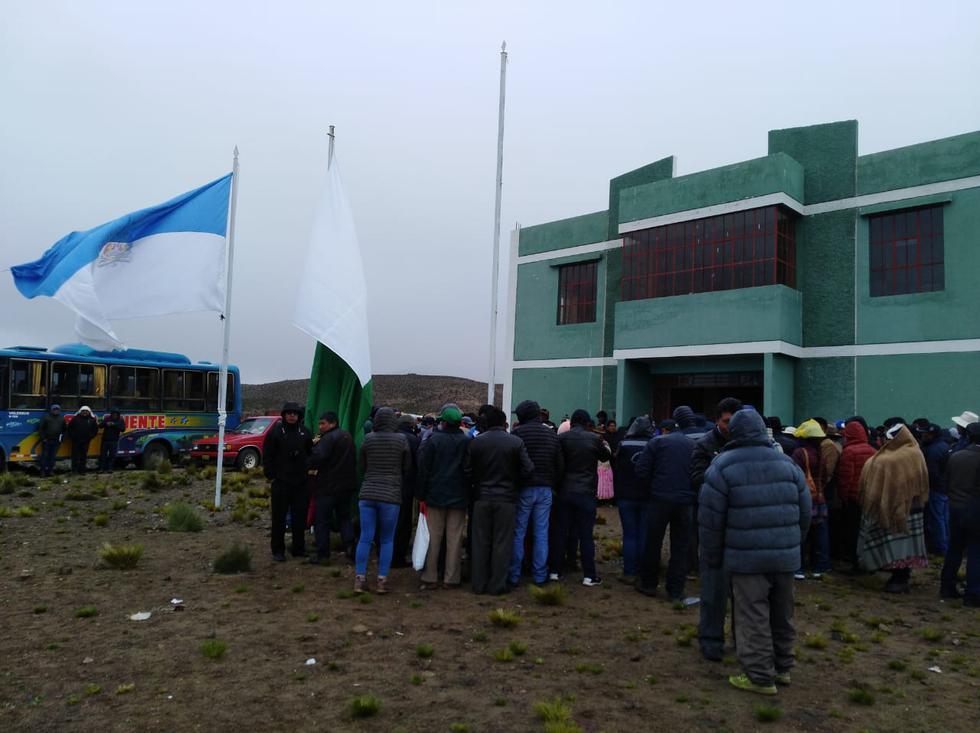 Tensión entre las regiones del sur del país. (Gobierno  Regional de Moquegua)