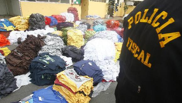 La mayor parte del contrabando hallado es ropa usada. (USI)