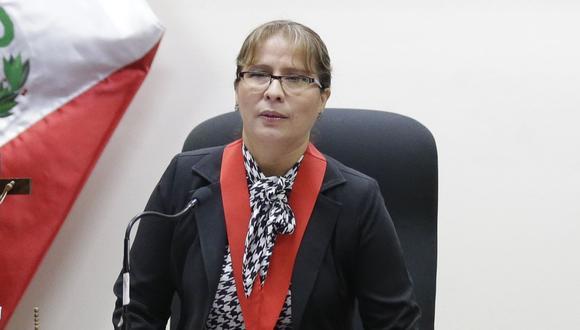 La magistrada tiene a su cargo casos como la masacre del Frontón, la matanza de Pativilca, o el crimen del periodista Hugo Bustios. (USI)
