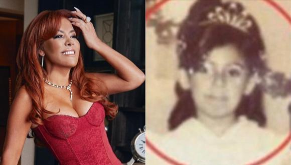 Magaly Medina sorprendió a sus seguidores recordando su niñez con fotografías inéditas. (Foto: @magalymedinav)