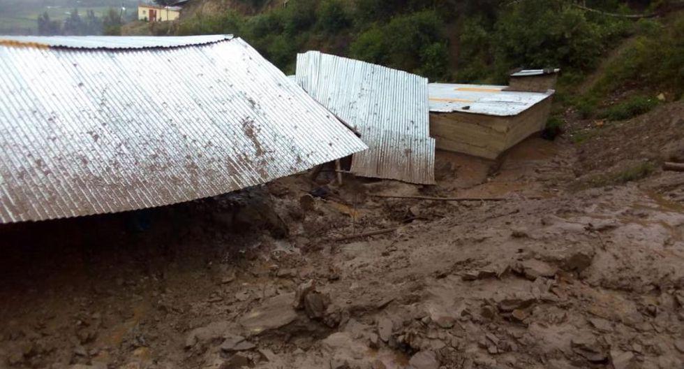 Otras viviendas resultaron inundadas. (Foto: Municipalidad de Paucartambo)
