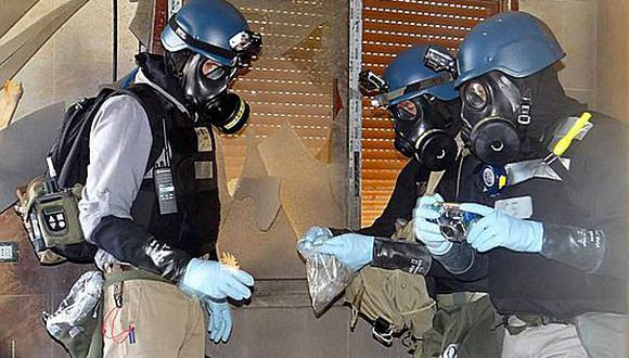 Armas químicas serán retiradas de Siria antes del 31 de diciembre. (Internet)