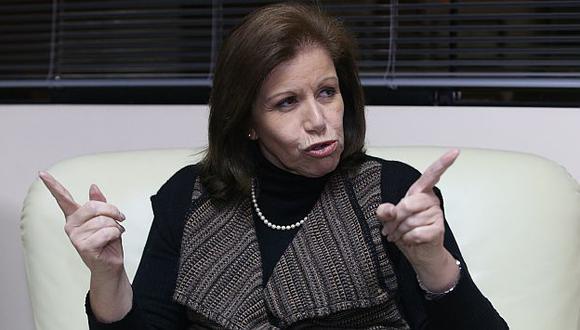 Flores Nano se mostró llana a dialogar con el Gobierno. (Martín Pauca)