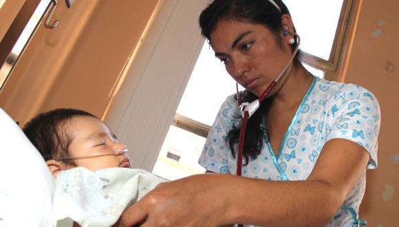 COEN informa que 30 niños han muerto por neumonía en la selva peruana. (USI)