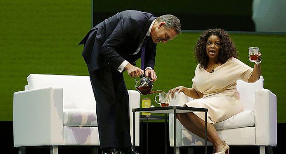 Oprah Winfrey lanzará el 29 de abril su línea de te junto con Starbucks. (AP)