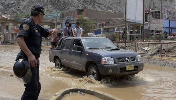 Centro de Operaciones de Emergencias Sectorial (COES) emitió el segundo reporte de este domingo. (Mininter)