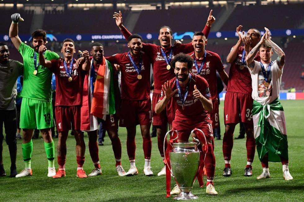 Liverpool venció 2-0 al Tottenham y se proclamó campeón de la Champions League. (Foto: AFP)