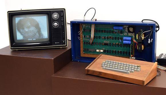 Ordenador personal Ricketts Apple-1. (AFP)