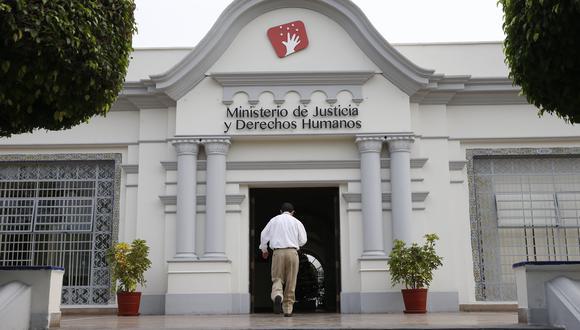 El Minjus cuestionó la decisión por mayoría del Tribunal Constitucional sobre la vacancia presidencial por incapacidad moral permanente. (Foto: Manuel Melgar / GEC)