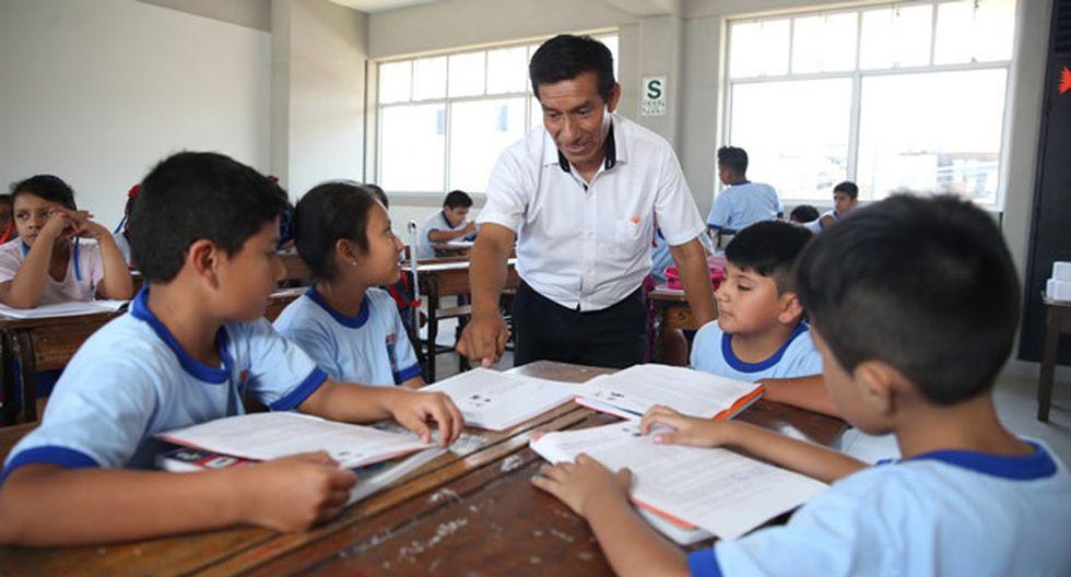 El sector educación contaría con S/31,328 millones si el proyecto de ley se aprueba sin modificaciones en ese campo. (Foto: Difusión)