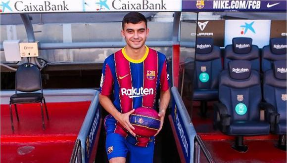Pedri González es la gran apuesta a futuro del cuadro catalán. (Foto: Barcelona).