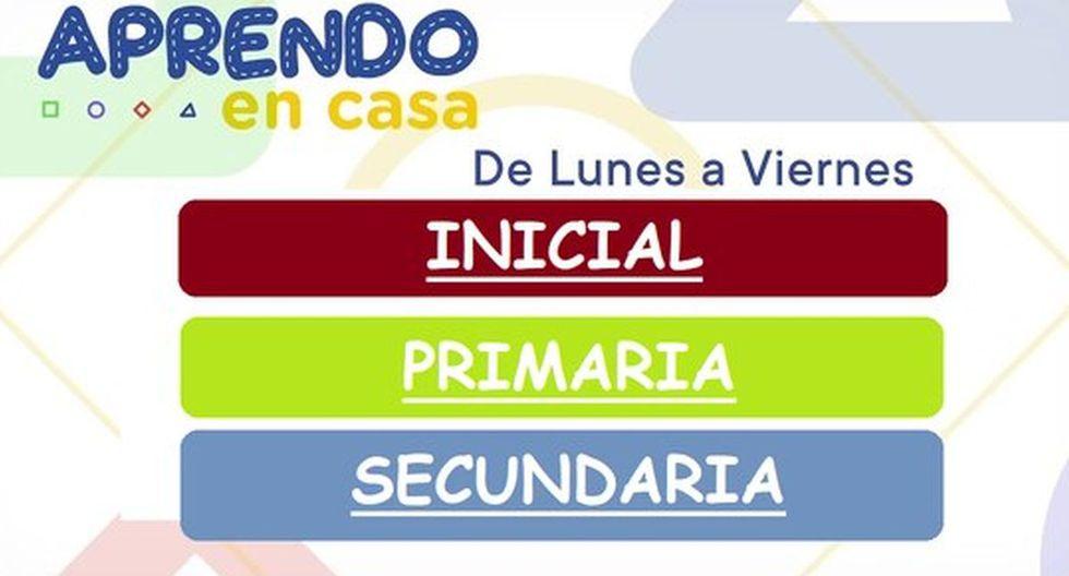 Aprendo en casa: sigue las clases virtuales del 15 de septiembre