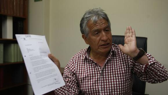 Virgilio Acuña también se quedó sin ser vocero de Solidaridad Nacional. (Peru21)
